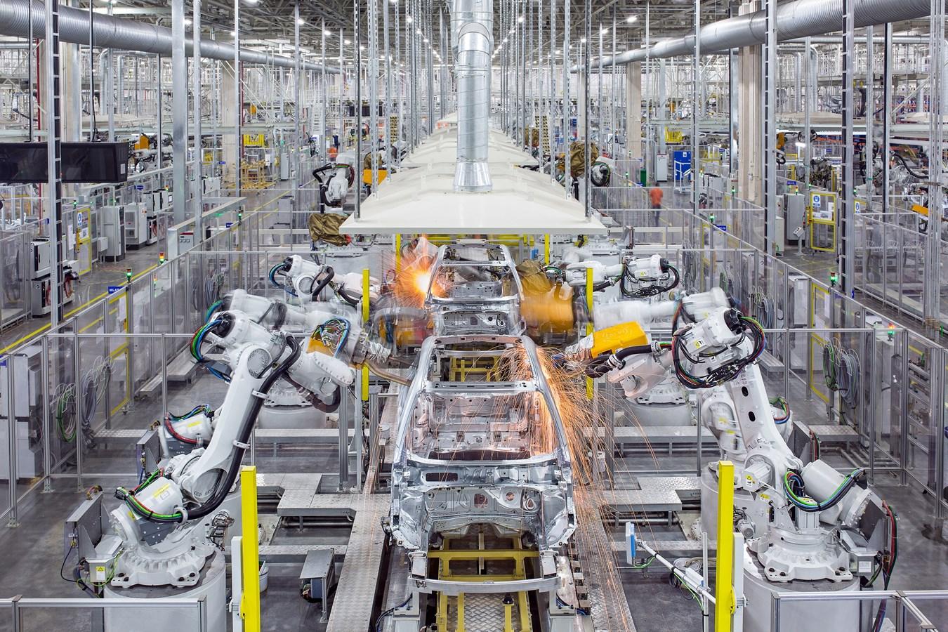 Volvo plant Produktion mit fossilfreiem Stahl