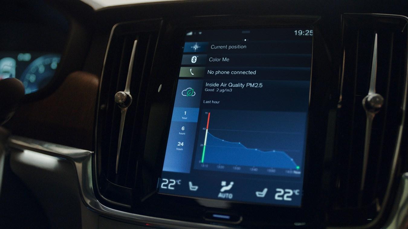 Mit dem erweiterten Volvo Luftqualitätssystem durchatmen
