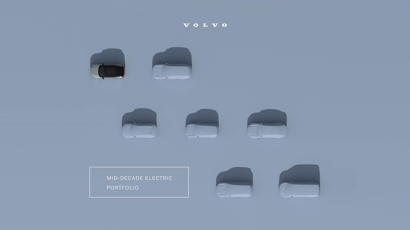 Volvo Cars wird ab 2030 vollelektrisch