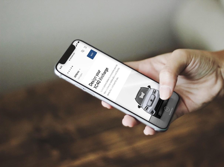 Neue Volvo Elektroautos ausschliesslich online erhältlich