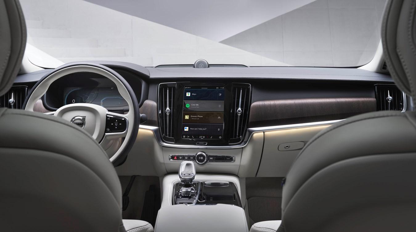 Bestens vernetzt, intuitiv bedienbar: Google Infotainment-System in weiteren Volvo Modellreihen