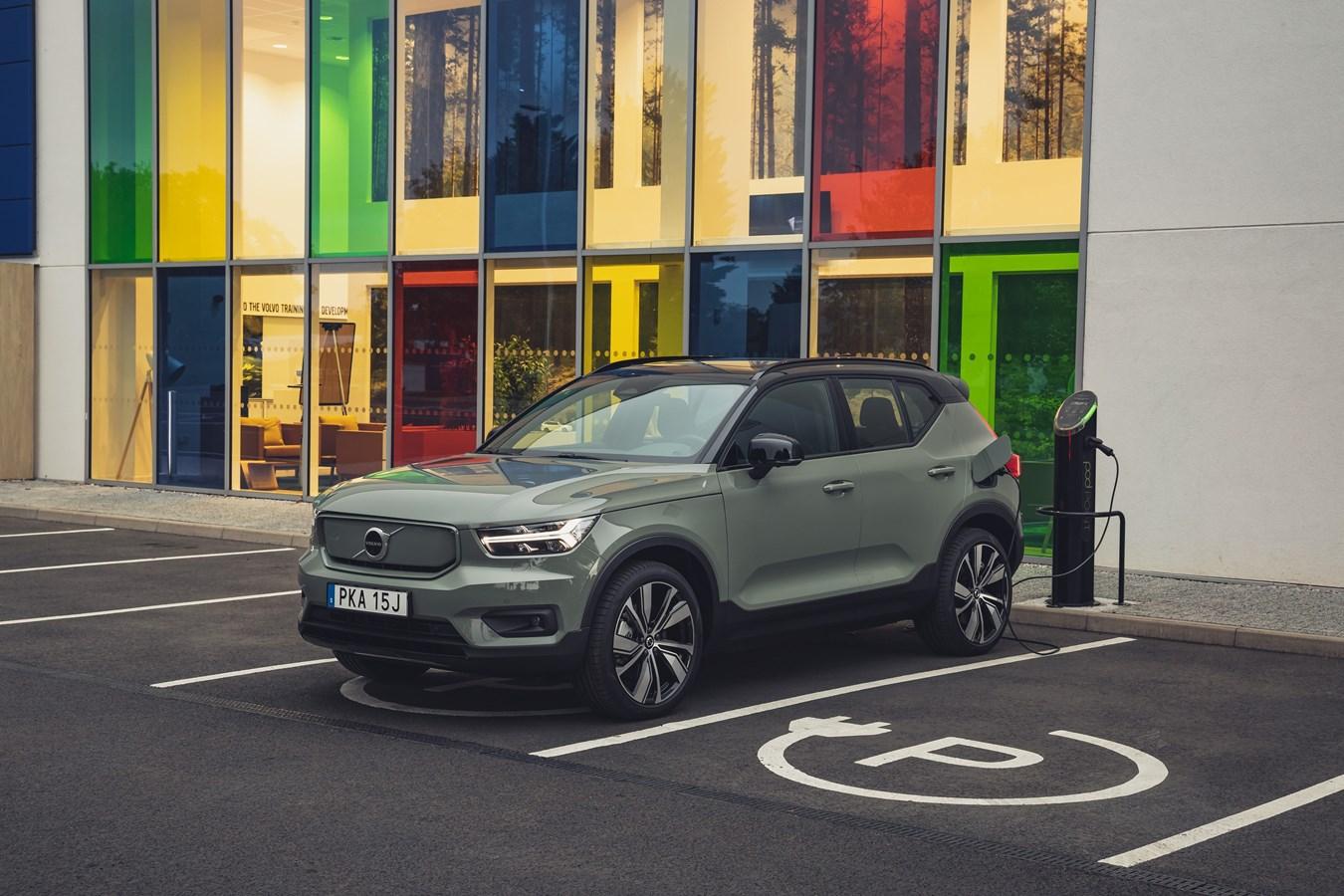 Volvo Schweiz kooperiert mit PubliBike – für Mobilität ohne CO2-Emission