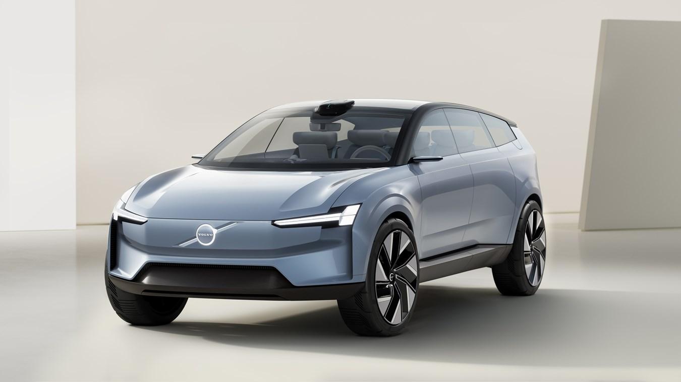 Der Volvo Concept Recharge: Ausblick auf die vollelektrische Zukunft von Volvo