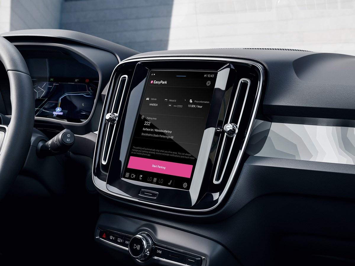 Leichter parken mit Volvo Cars und EasyPark