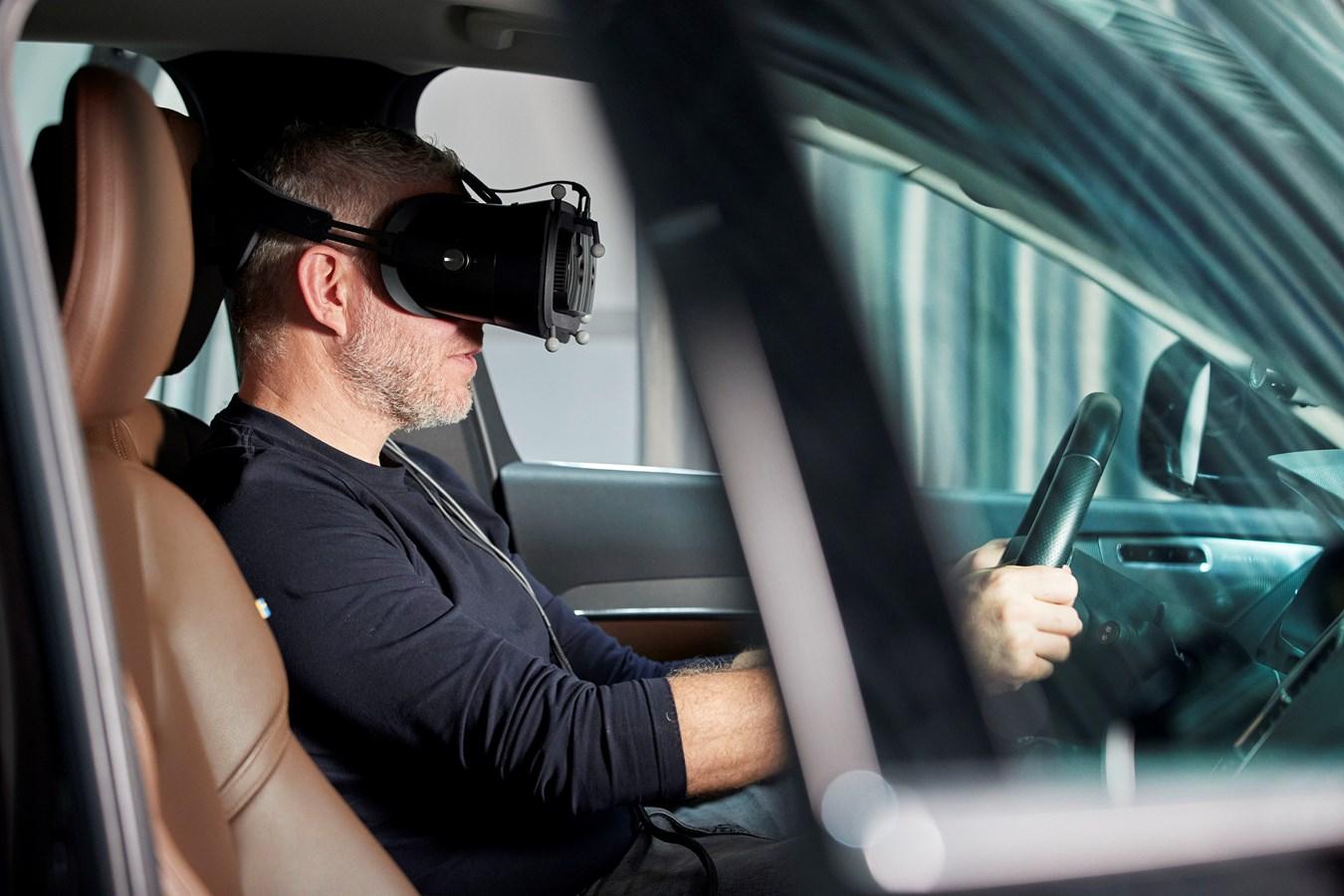 Le «nec plus ultra des simulateurs de conduite» de Volvo Cars utilise la dernière technologie des jeux vidéos pour développer des voitures plus sûres