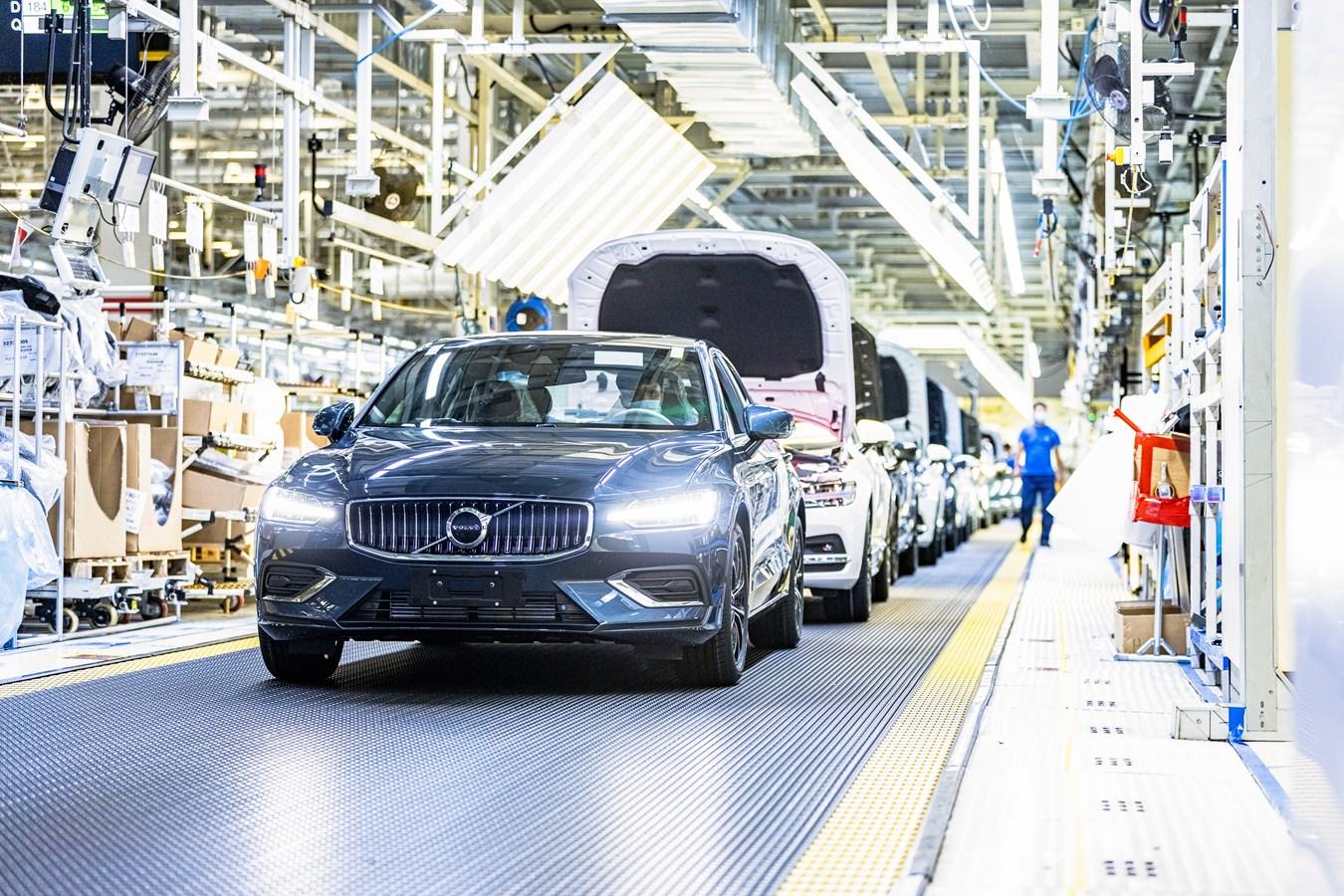 Fornitura di elettricità a impatto zero sul clima nello stabilimento cinese di Volvo Cars a Daqing