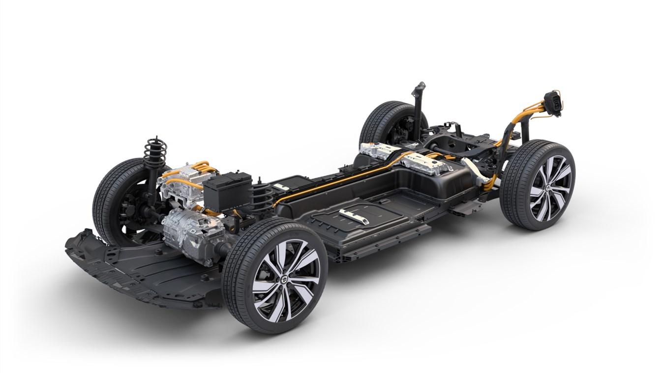 Volvo Cars amplia la gamma della sua XC40 Recharge completamente elettrica