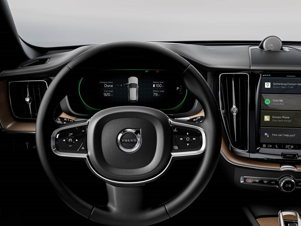 Maggiore autonomia elettrica per i modelli Volvo Recharge con propulsione plug-in hybrid