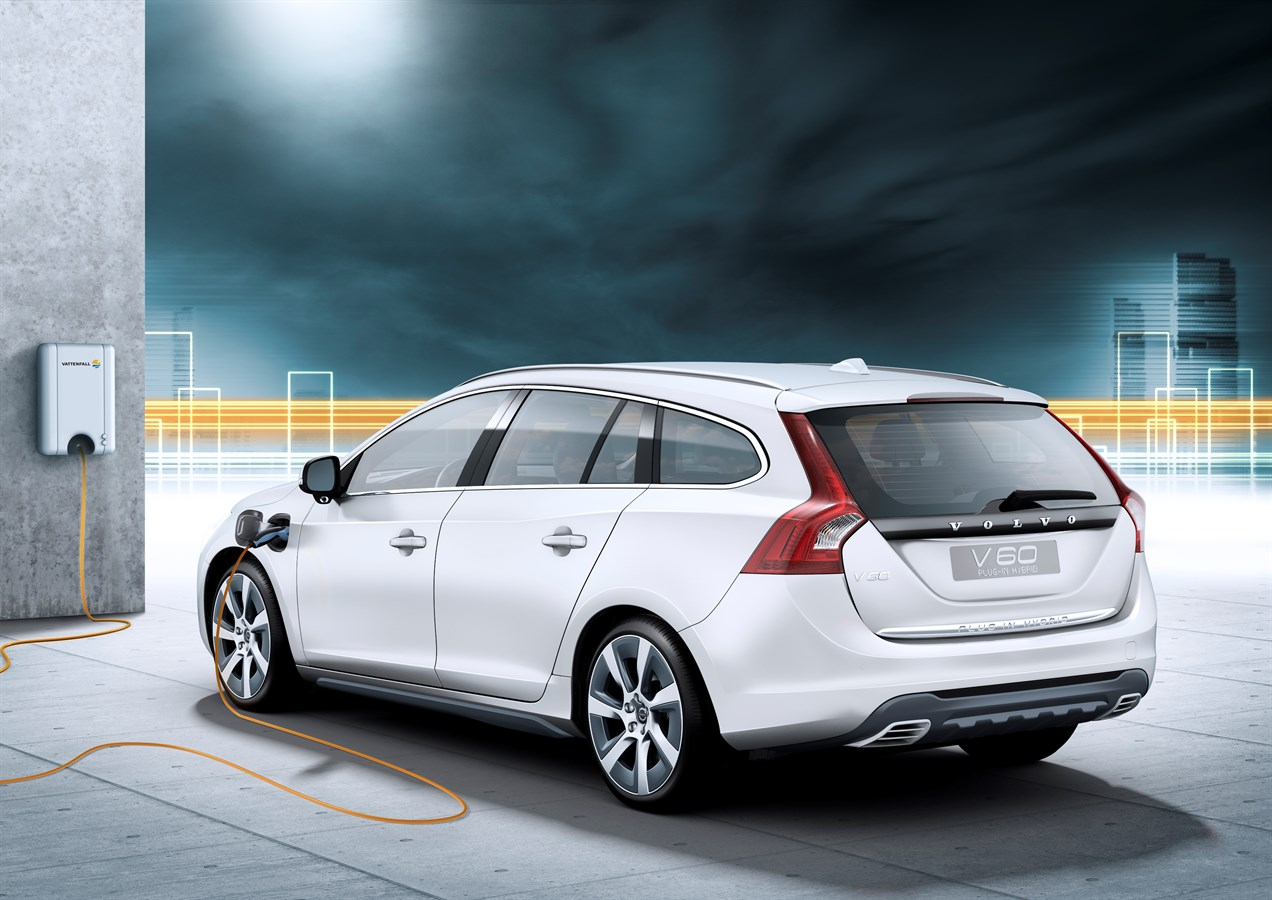 Volvo Car Corporation first with next-generation hybrids - the V60 Plug-in Hybrid is three cars ...