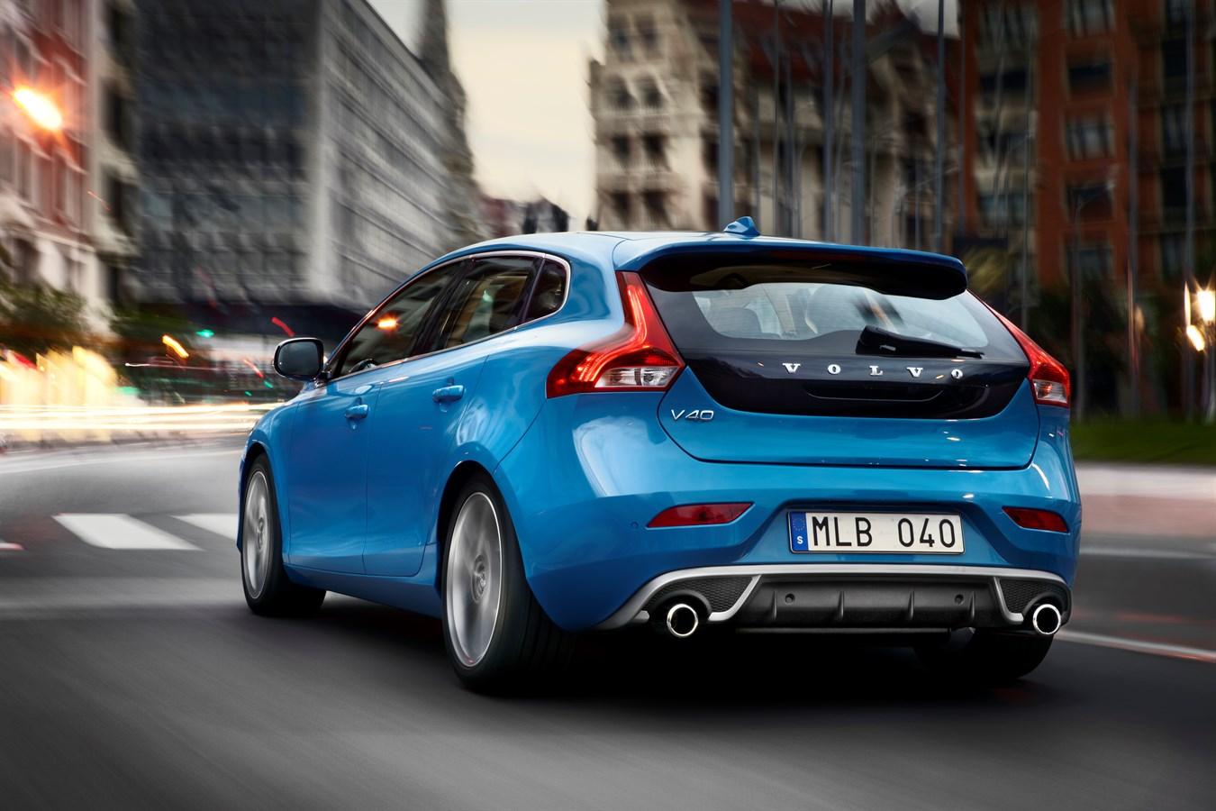 The new Volvo V40 R-Design