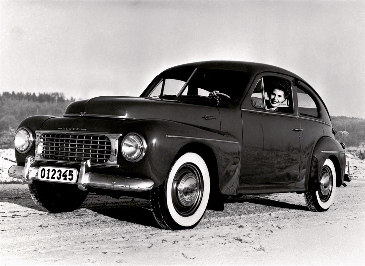 VOLVO PV444 (1946-1958) - Volvo Car USA Newsroom