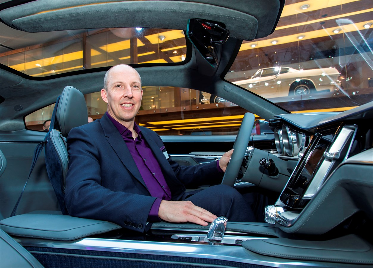 Volvo Cars Robin Page voted Interior Designer of the Year at the