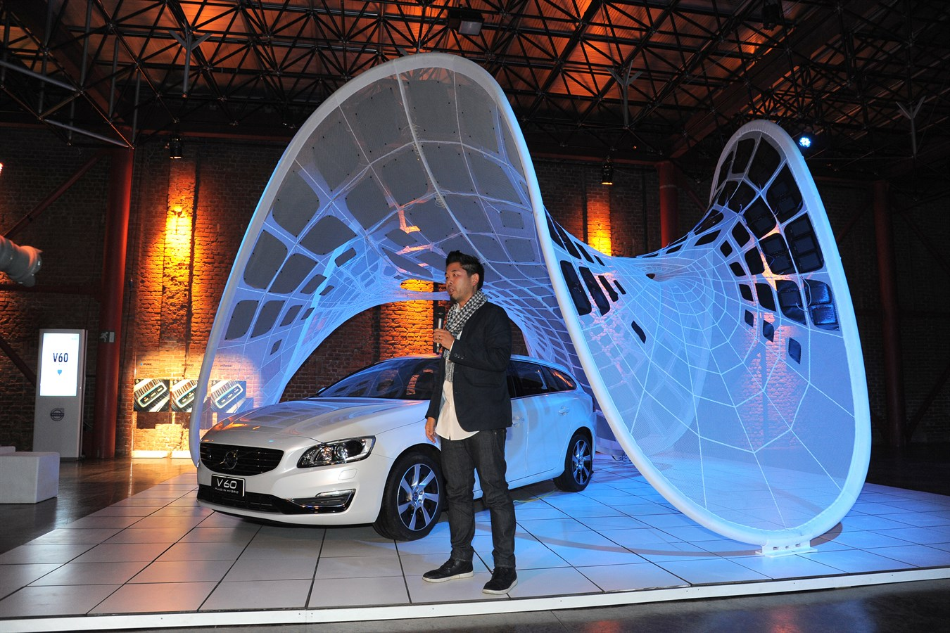Volvo Cars launches the Pure Tension pavilion in Milan, Italy