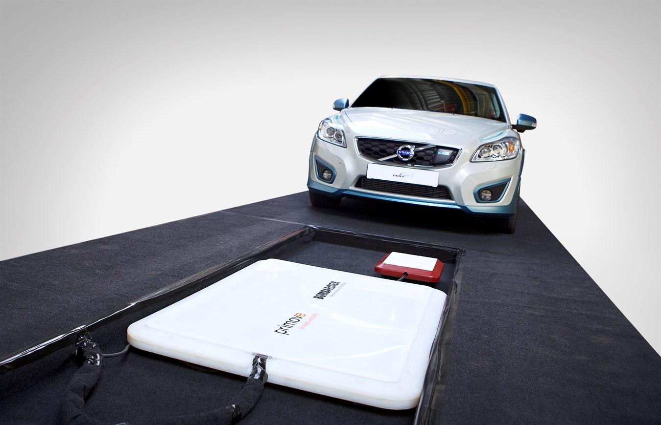 Volvo C30 Electric – recharge par induction