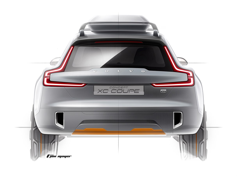 The Volvo Concept XC Coupé
