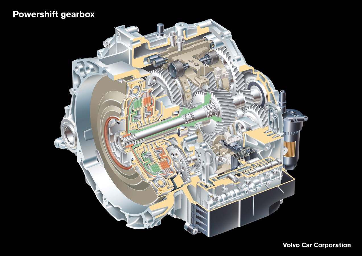 Volvo Cars launches Powershift - Two Transmissions in One - Volvo