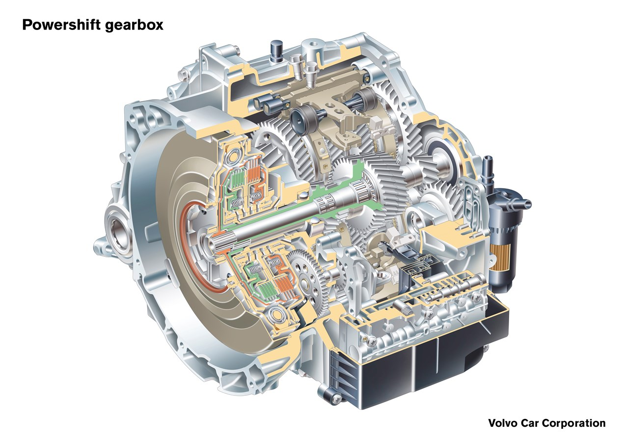 Volvo Cars Launches Powershift Two Transmissions In One Transmission Engine Diagram Car Group Global Media Newsroom
