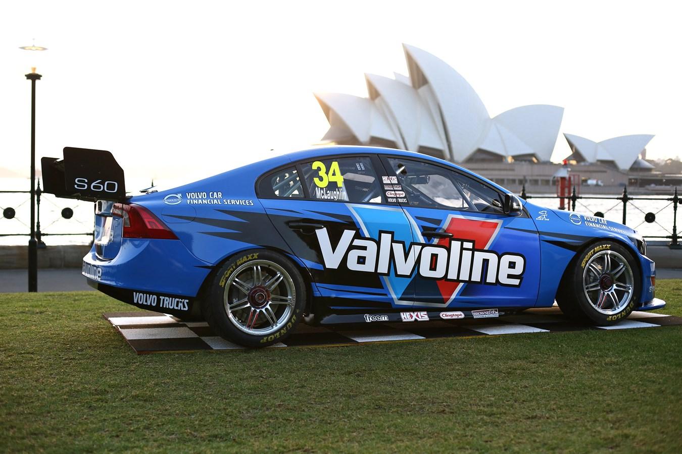 Volvo S60 V8 Supercar makes its debut in Sydney