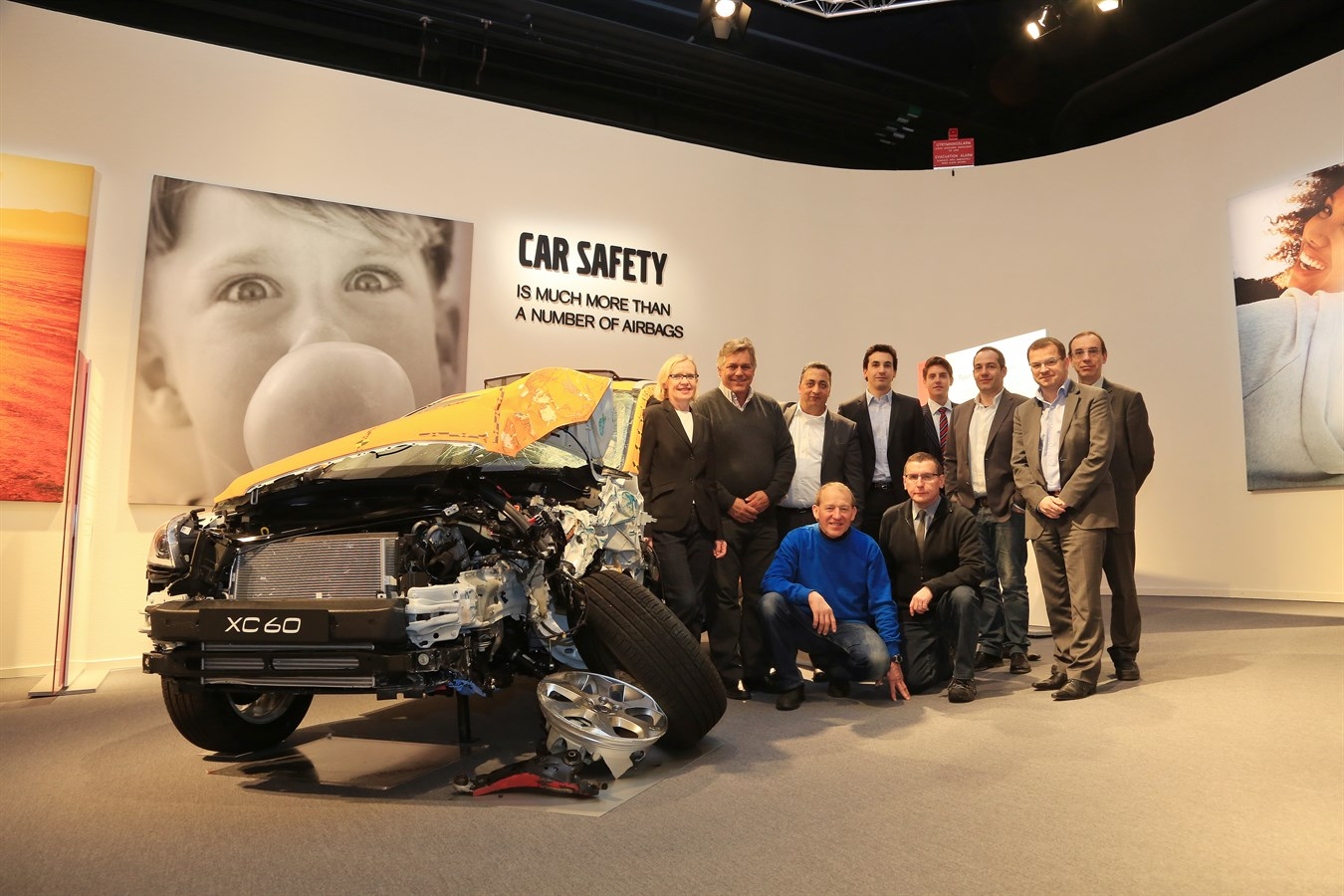 Prix Volvo For You lauréats 2012 & 2013 - centre de sécurité à Göteborg en Suède