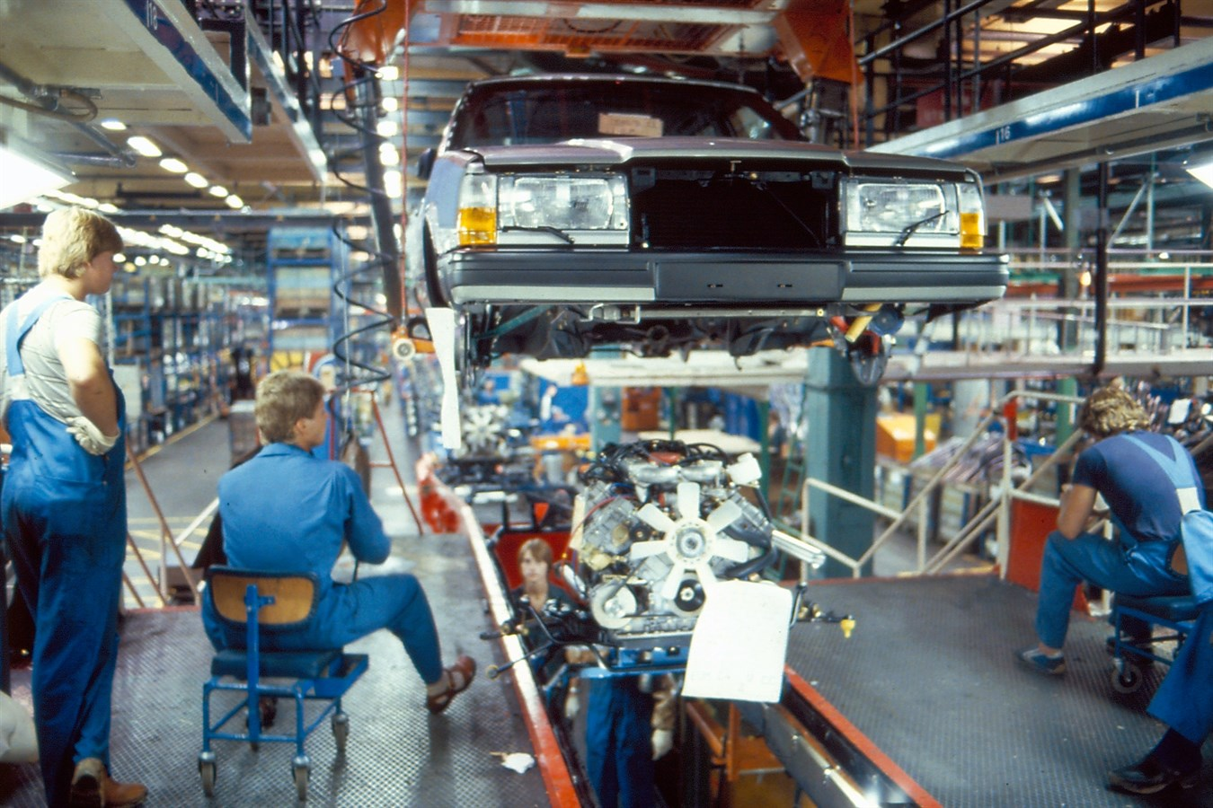 The Volvo Cars plant in Torslanda celebrates its 50th anniversary in 2014