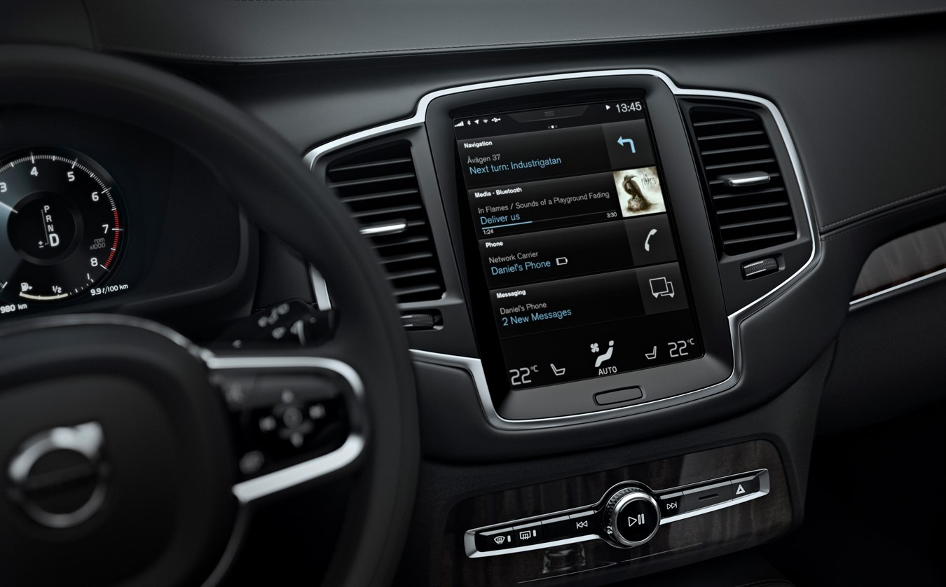 Nouveau Volvo XC90 - Sensus
