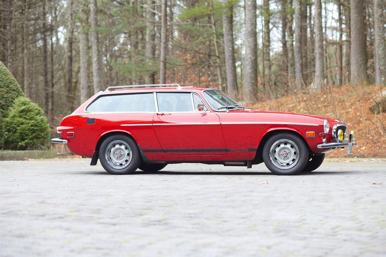 Pristine Volvo P1800ES sells for record price at Bonhams auction