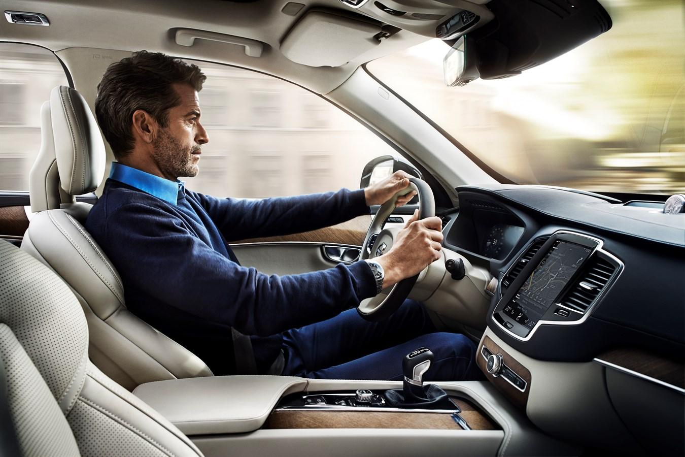 The all-new Volvo XC90 - interior