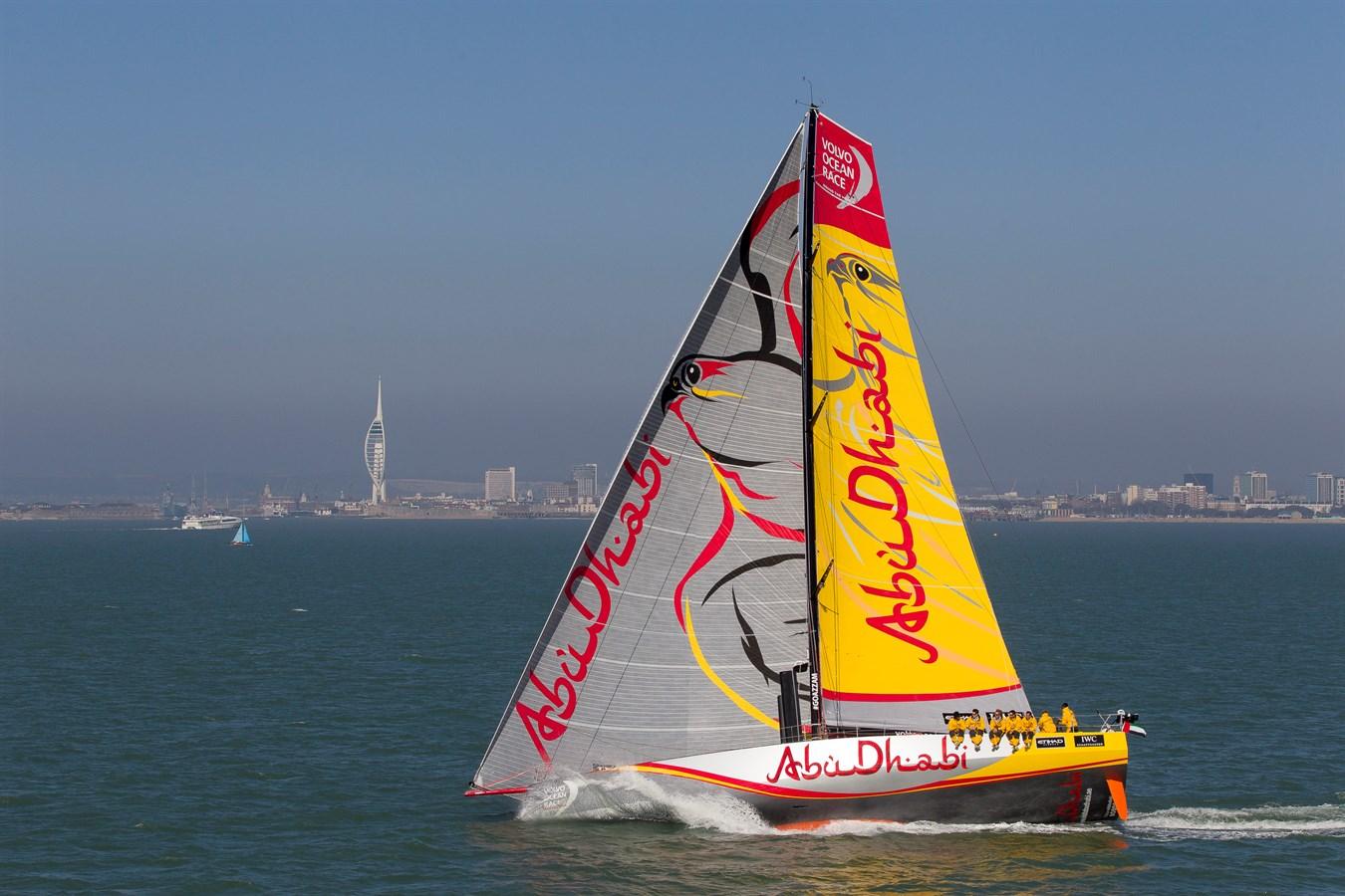 Volvo Ocean Race 2014-15 / Abu Dhabi Racing