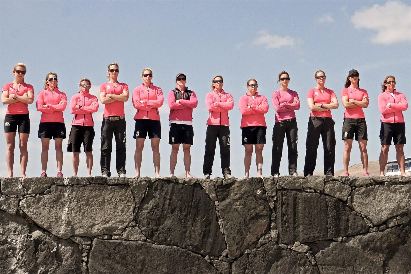 Volvo Ocean Race 2014-15 / Team SCA, premier équipage 100% féminin