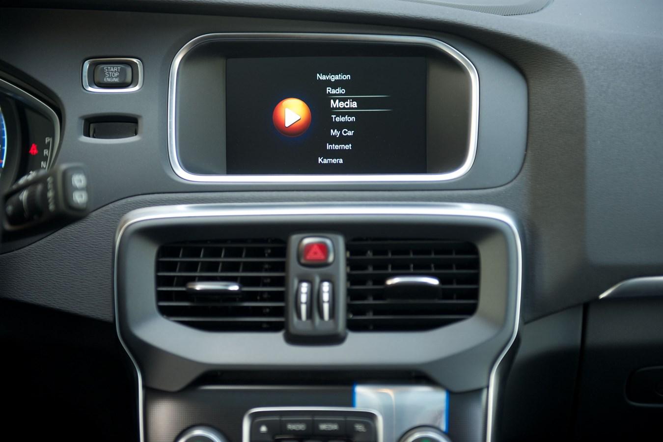Volvo V40 - interior - Volvo Car Group Global Media Newsroom