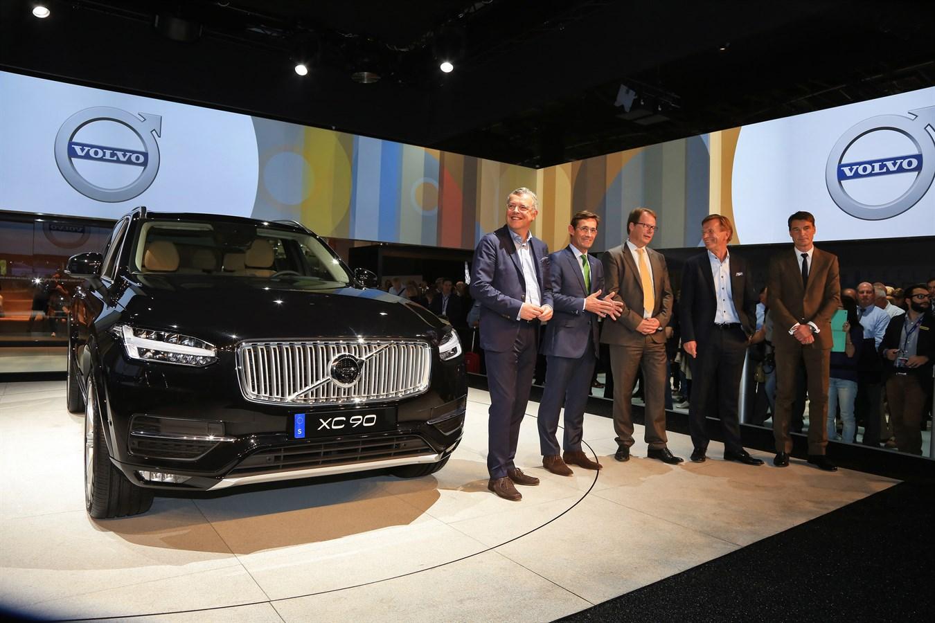 Volvo XC90 - Mondial de l'Automobile 2014
