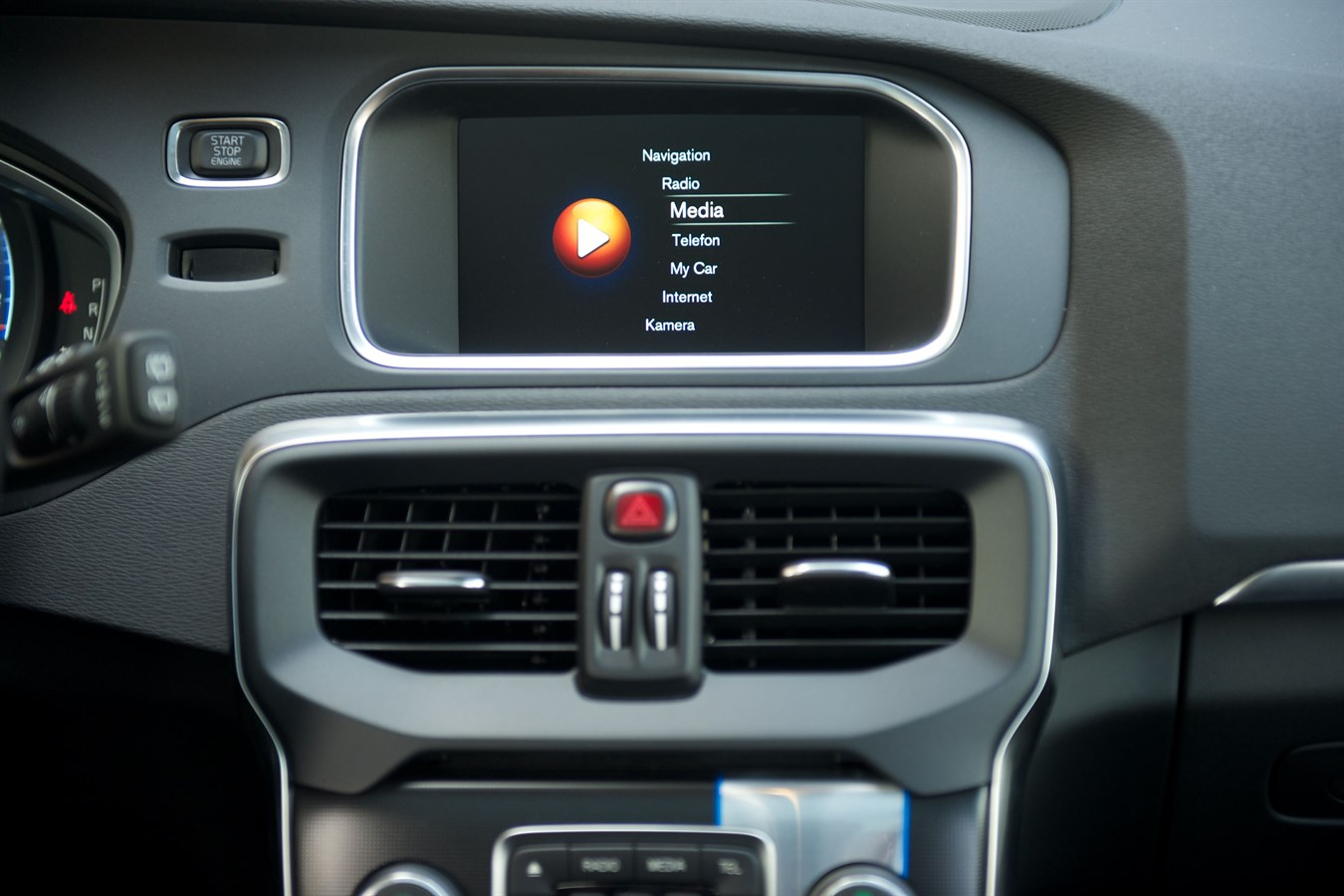 Volvo V40 - interior - Volvo Car Austria Pressezentrum