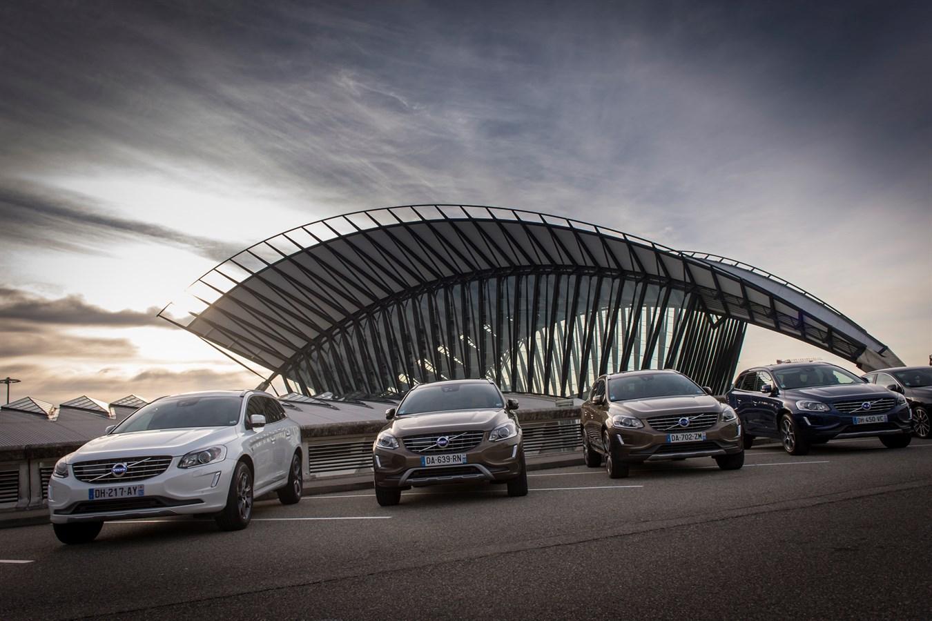 Gamme Volvo Drive-E année modèle 2015 - Photo Jean-Marc Lisse