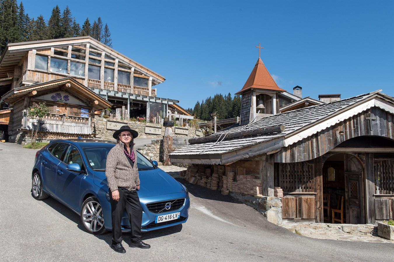 La Maison Des Bois Plaisir - Volvo V40 gamme Drive E année mod u00e8le 2015 Marc Veyrat La Maison des Bois Site Média Volvo