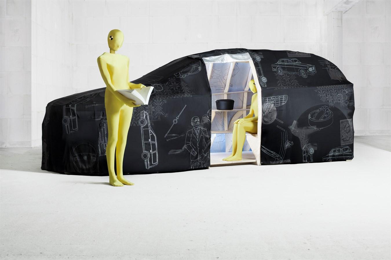 Visie van ontwerpduo Van Eijk en Van Der Lubbe op zelfrijdende Volvo's