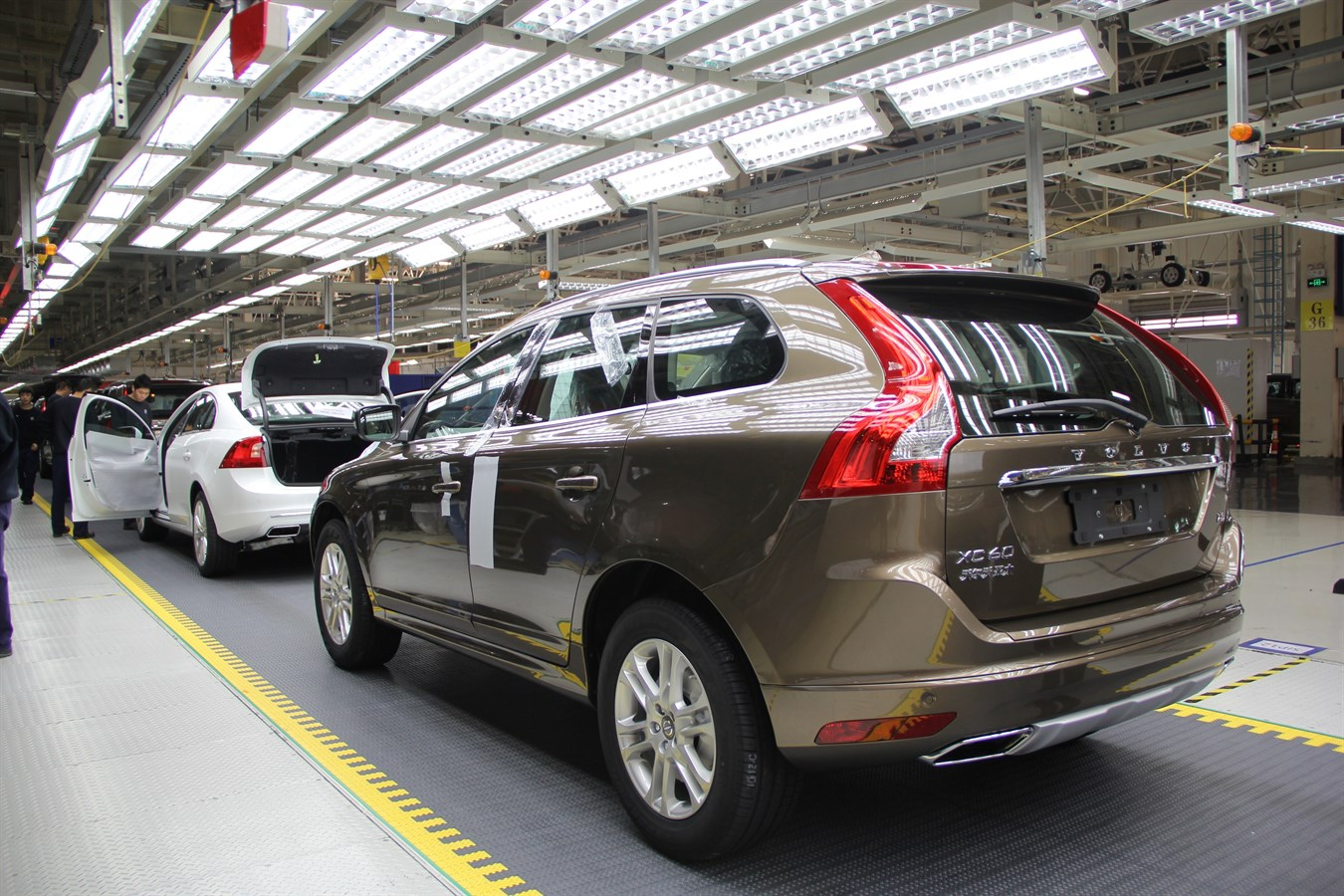 Volvo Cars starts XC60 production in China - Volvo Car Group Global Media Newsroom