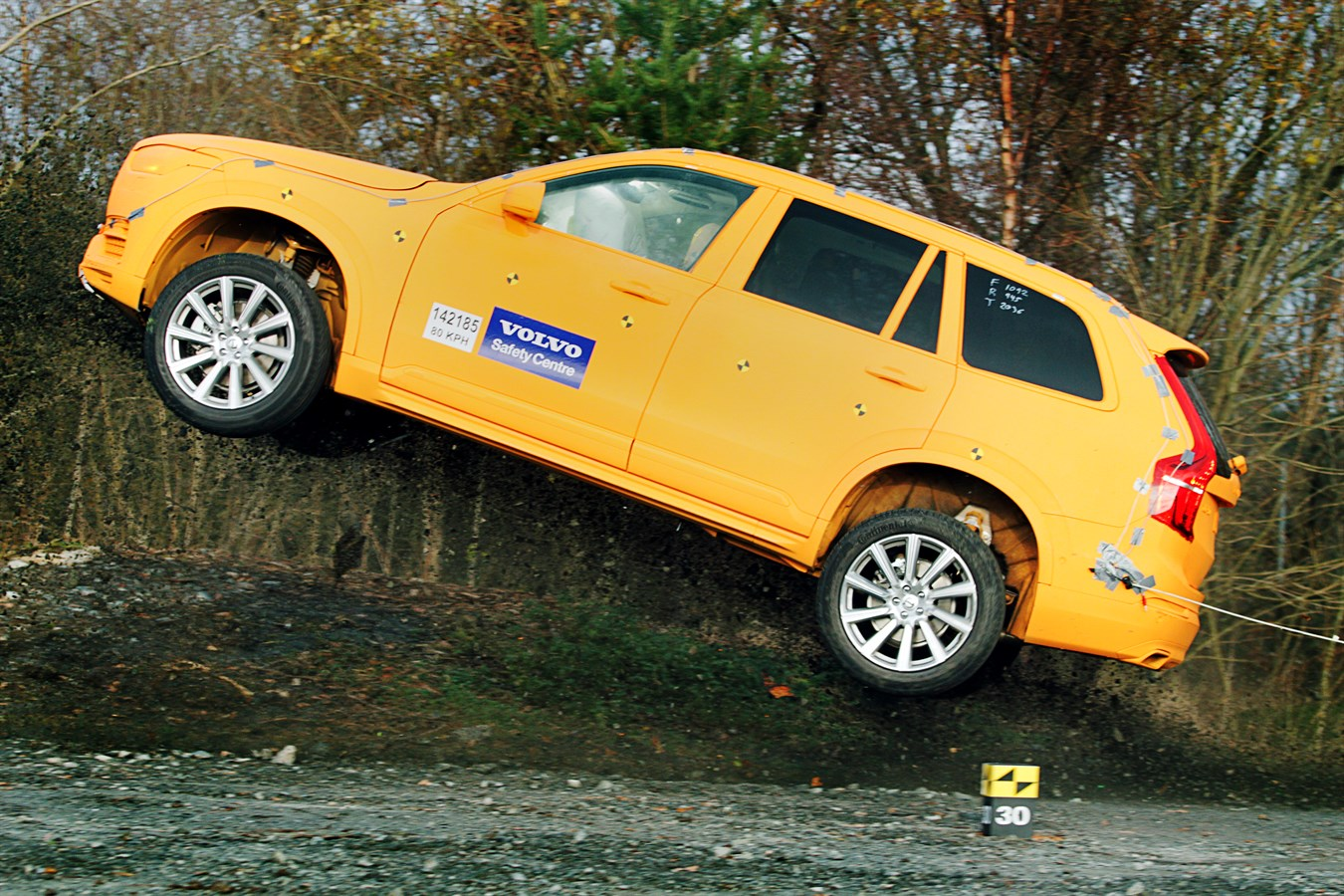 Volvo XC90 crash test  Volvo Car Group Global Media Newsroom