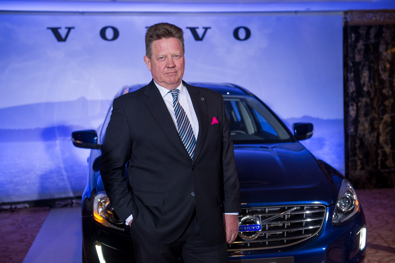 Президент Volvo Car Russia Майкл МАЛЬМСТЕН