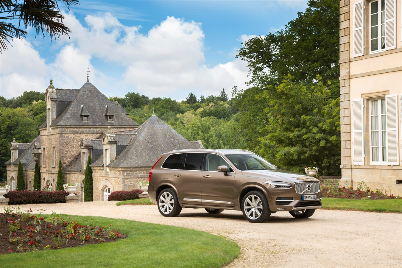 Volvo XC90 à Lorient