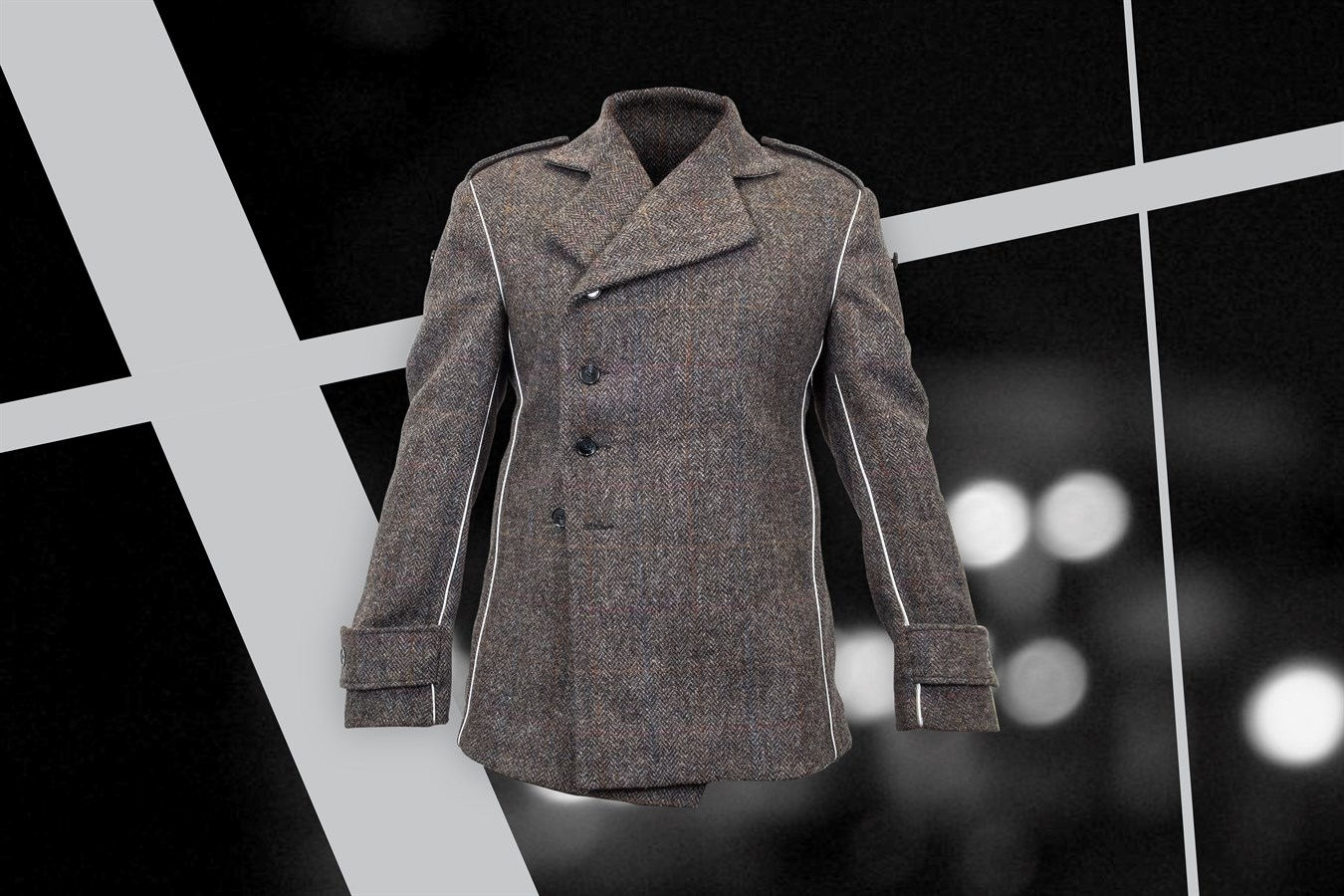 Volvo Safety Jacket - design prototype in collaboration with London College of Fashion, UAL