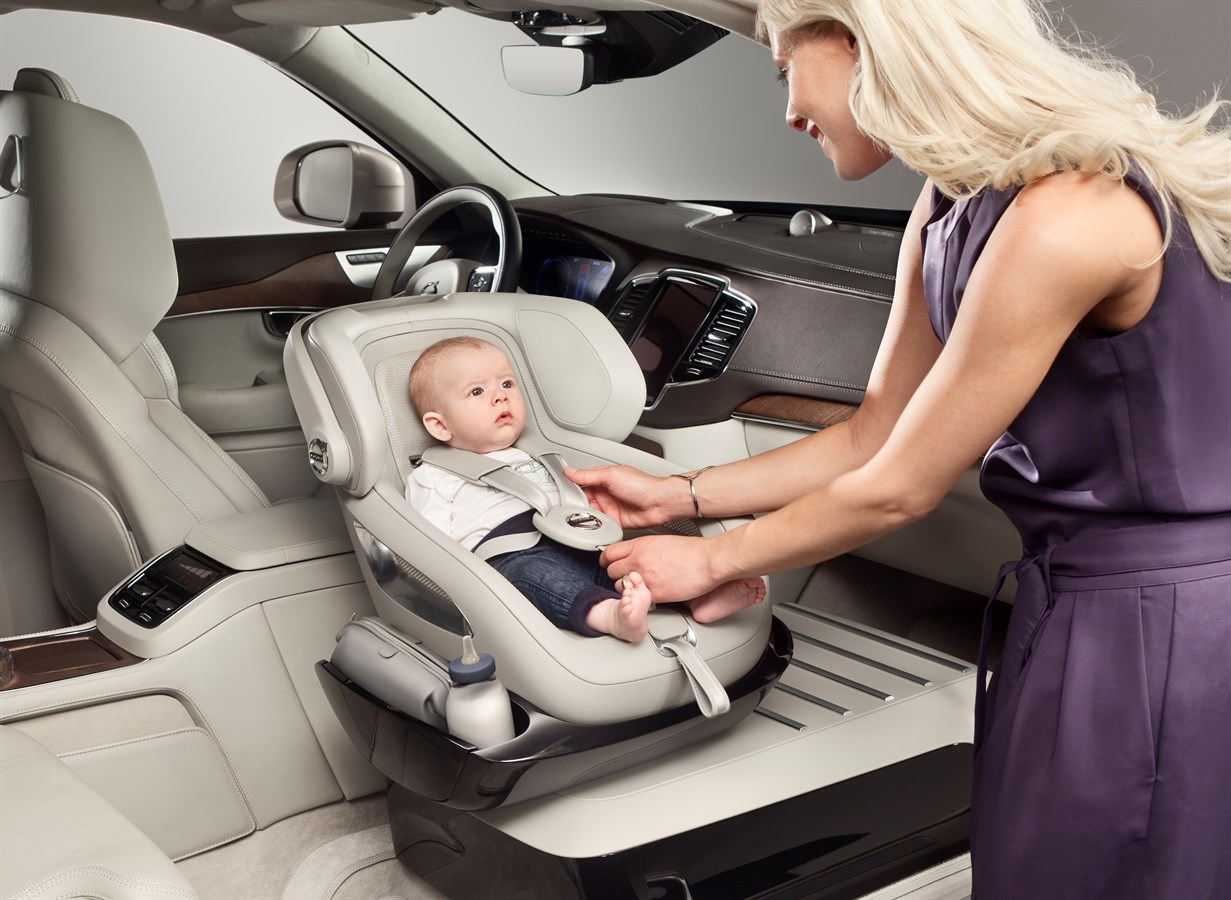 Volvo Cars Adds A Little Luxury With Excellence Child Safety Seat