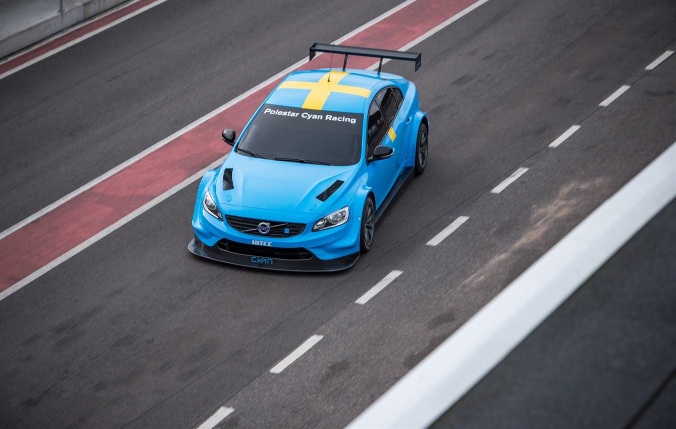 Polestar Cyan Racing announces multi-year FIA WTCC programme - Volvo