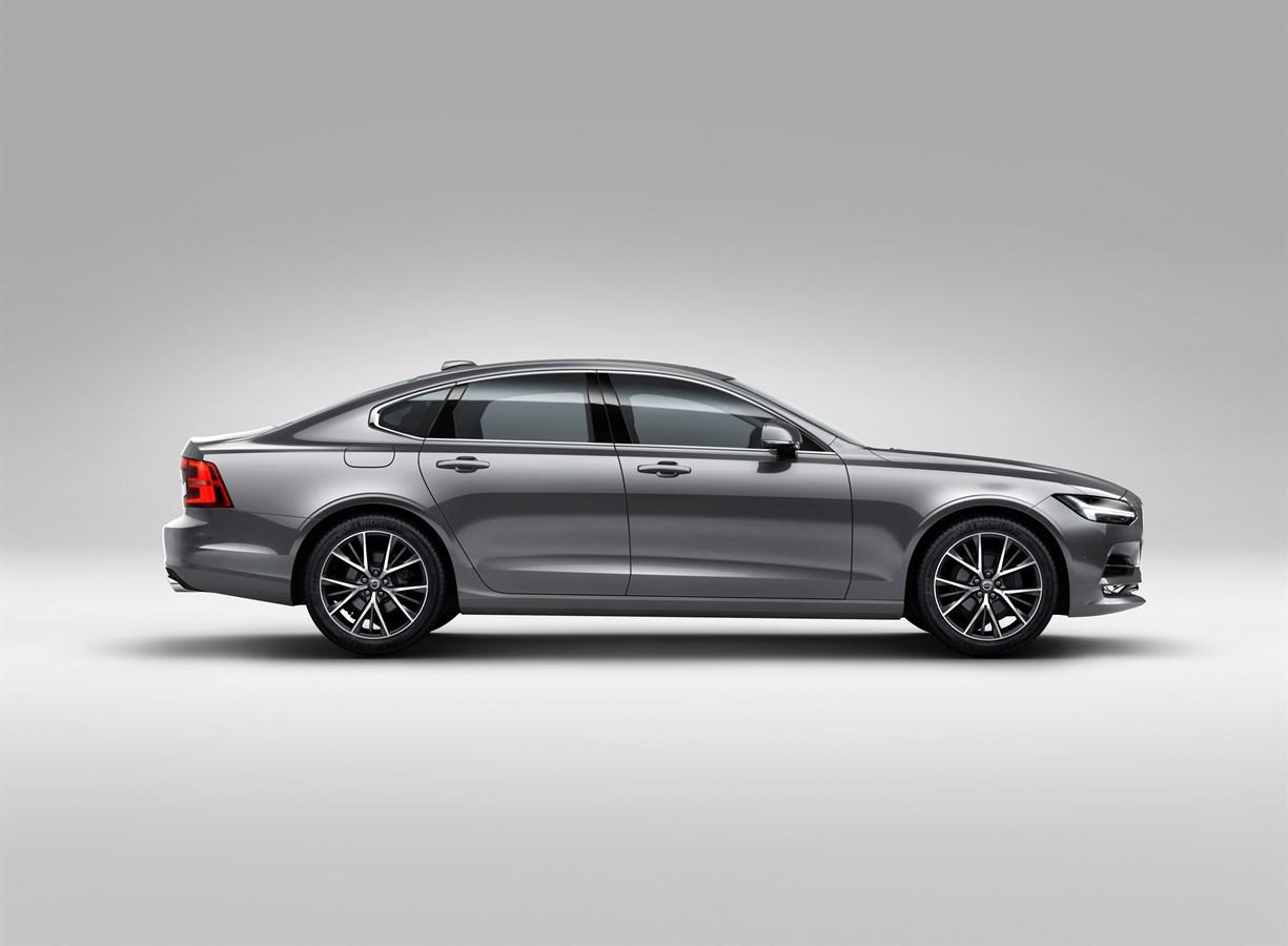 Profile Right Volvo S90 Osmium Grey Volvo Cars Global Media Newsroom