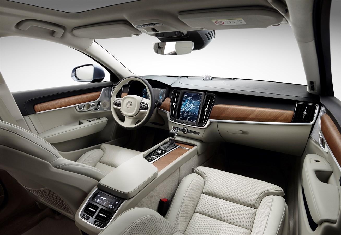 Volvo S90 Interieur - Volvo Car Austria Pressezentrum