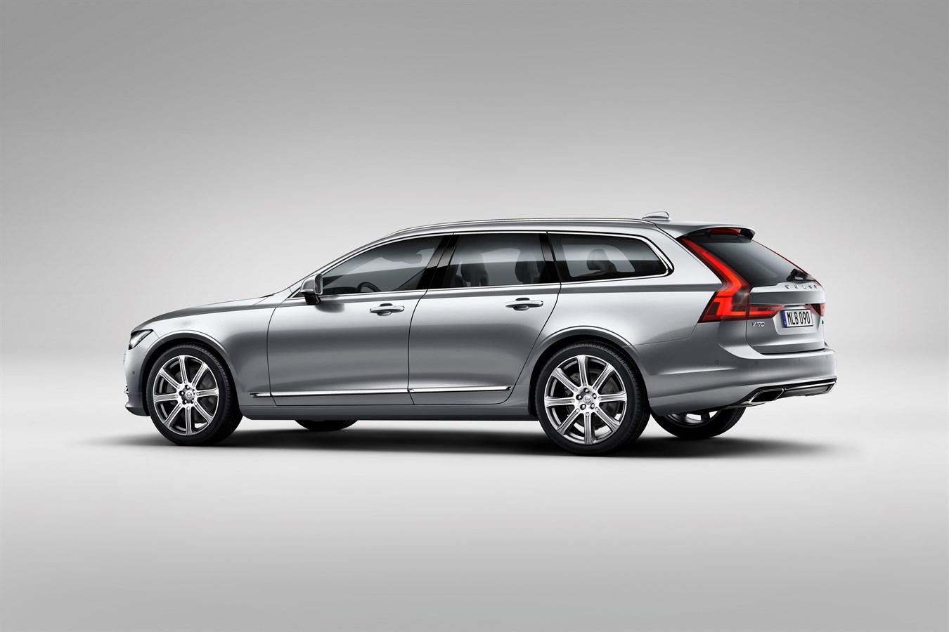 Volvo Cars Reveals Stylish And Versatile New V90 Wagon Car Usa Newsroom