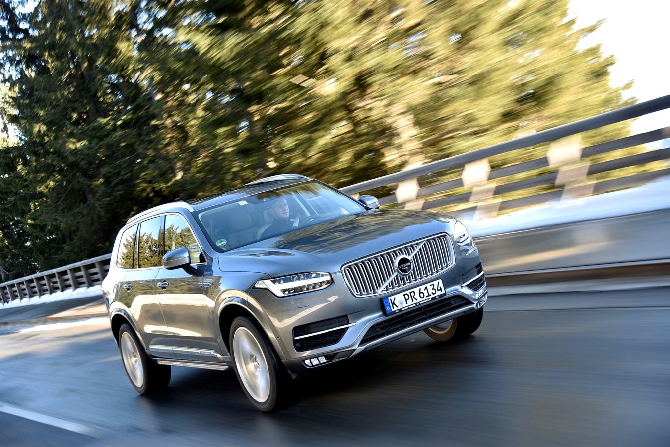 Volvo XC90 Neige 2016