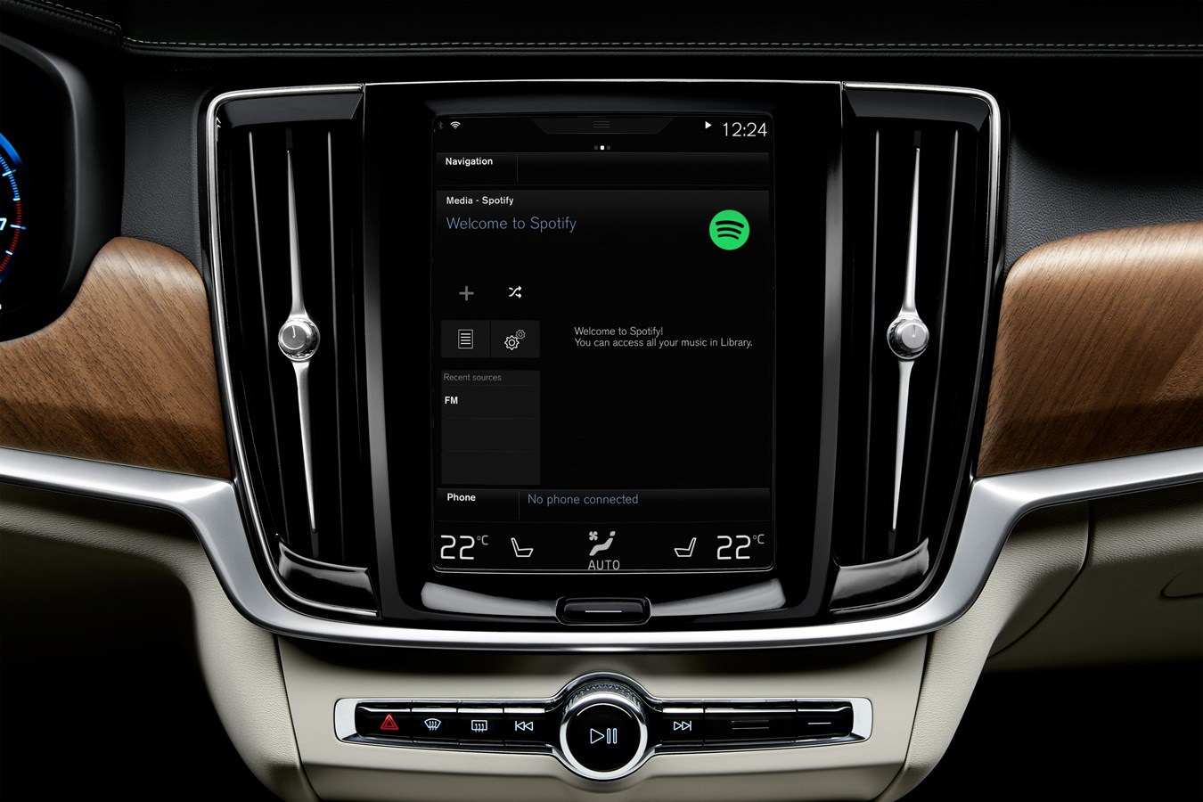 Volvo Cars Reveals Global Integration Of Spotify Streaming
