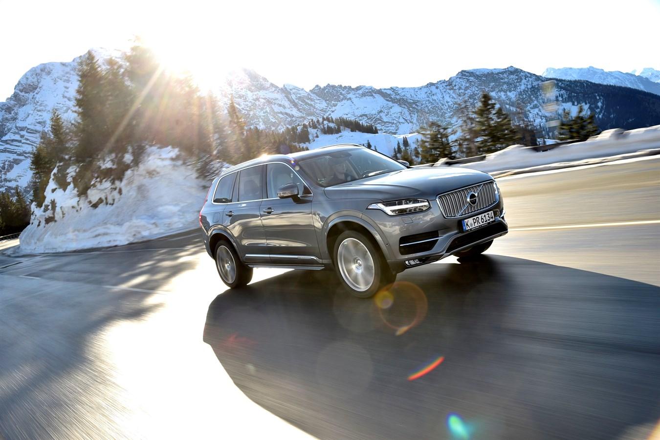 Volvo XC90 T5 Inscription AWD - model year 2017