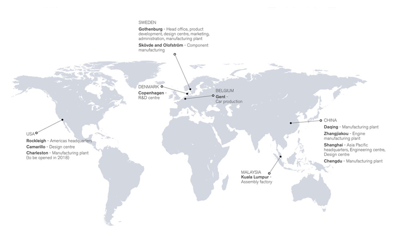 Volvo Cars begins construction of its South Carolina manufacturing plant - Volvo Car Group ...