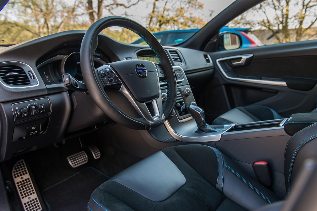 Volvo S60 and V60 Polestar interior - Volvo Car UK Media Newsroom
